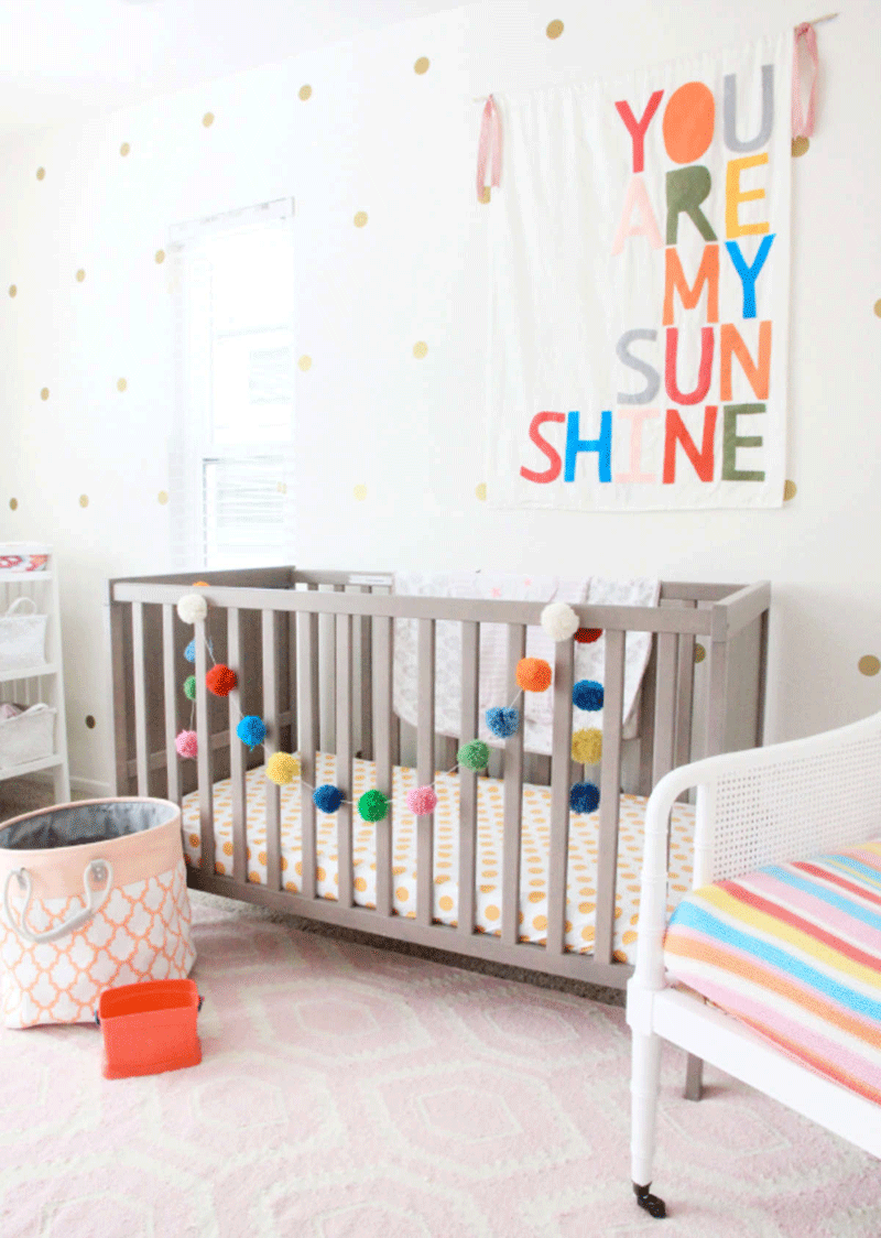 colourful happy nursery