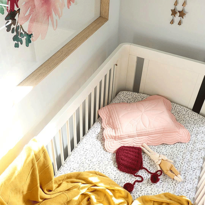 pale pinkpillow nursery