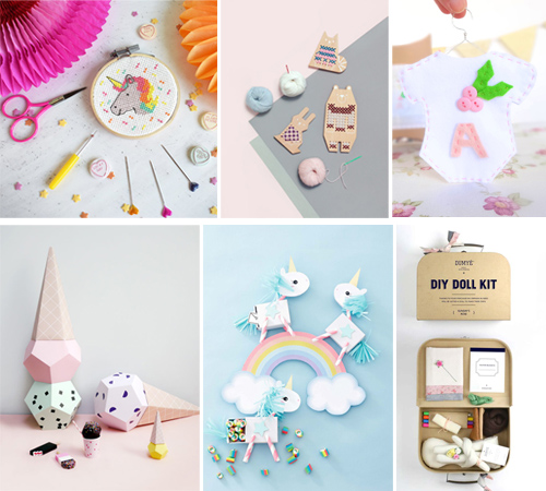 10 DIY CRAFT KITS FOR GIRLS