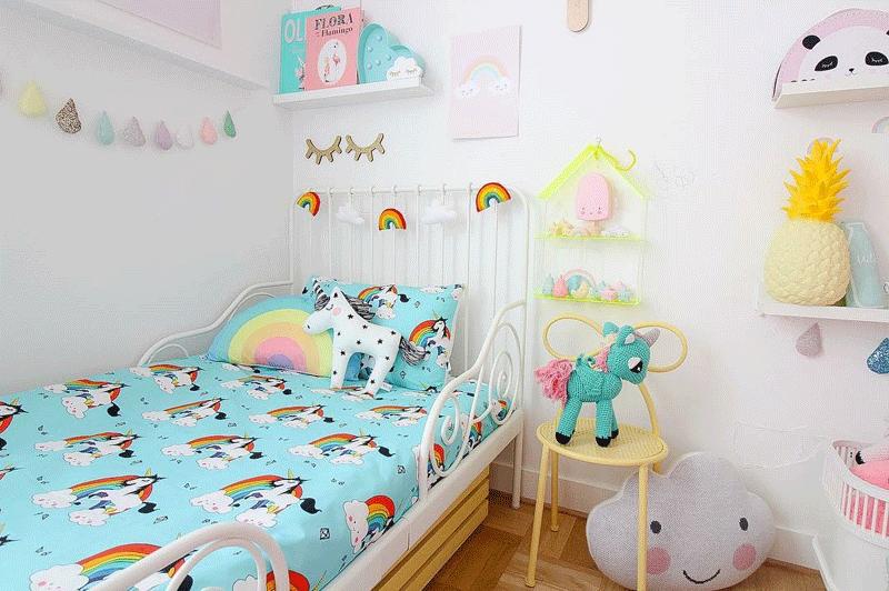 Rainbow In Kids Interiors Nursery Kids And Play Rooms