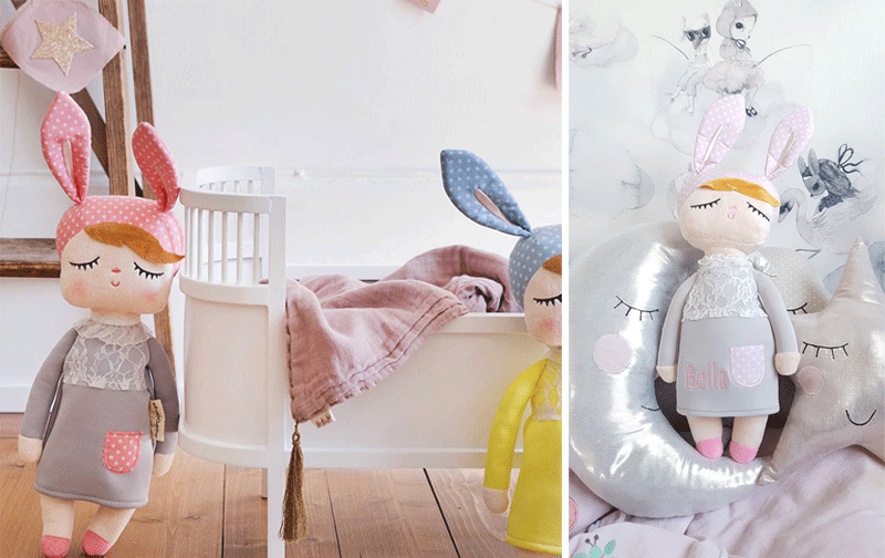 rabbit doll miniroom
