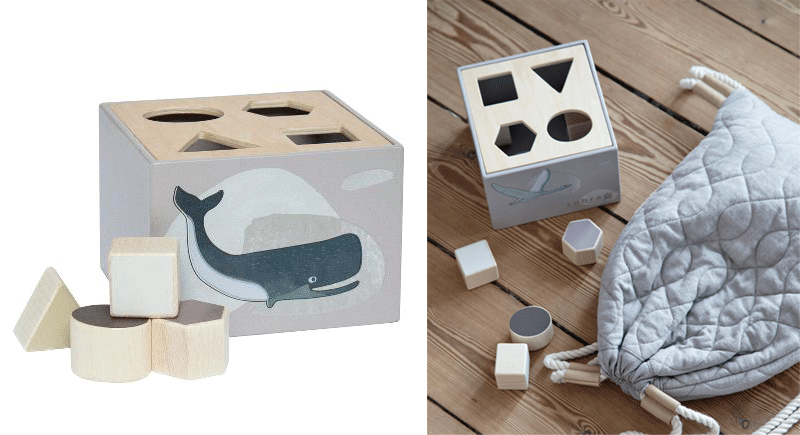 animal shape sorter toy