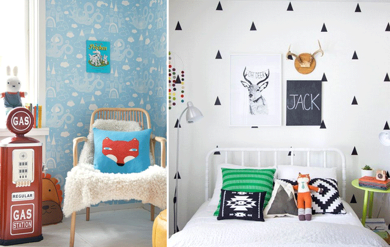 fox details in kids rooms