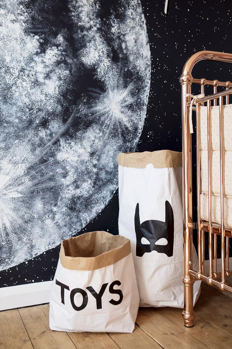 batman toy storage bag