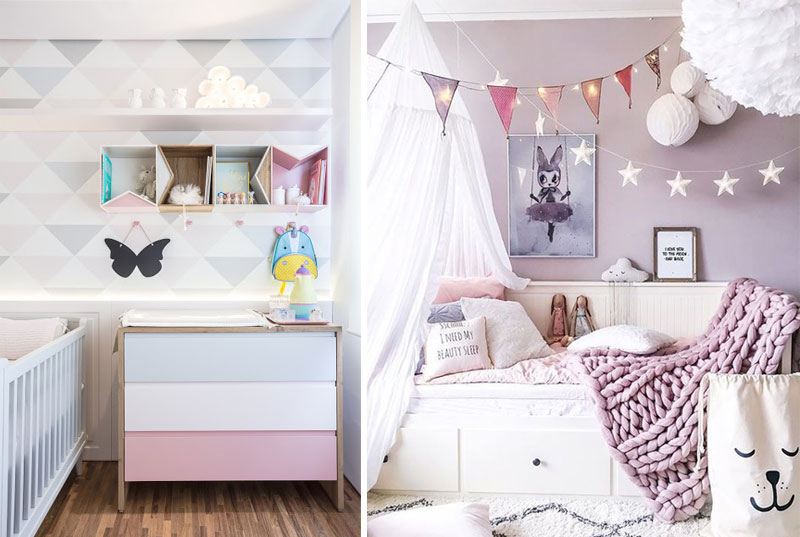 lavender in childrens rooms