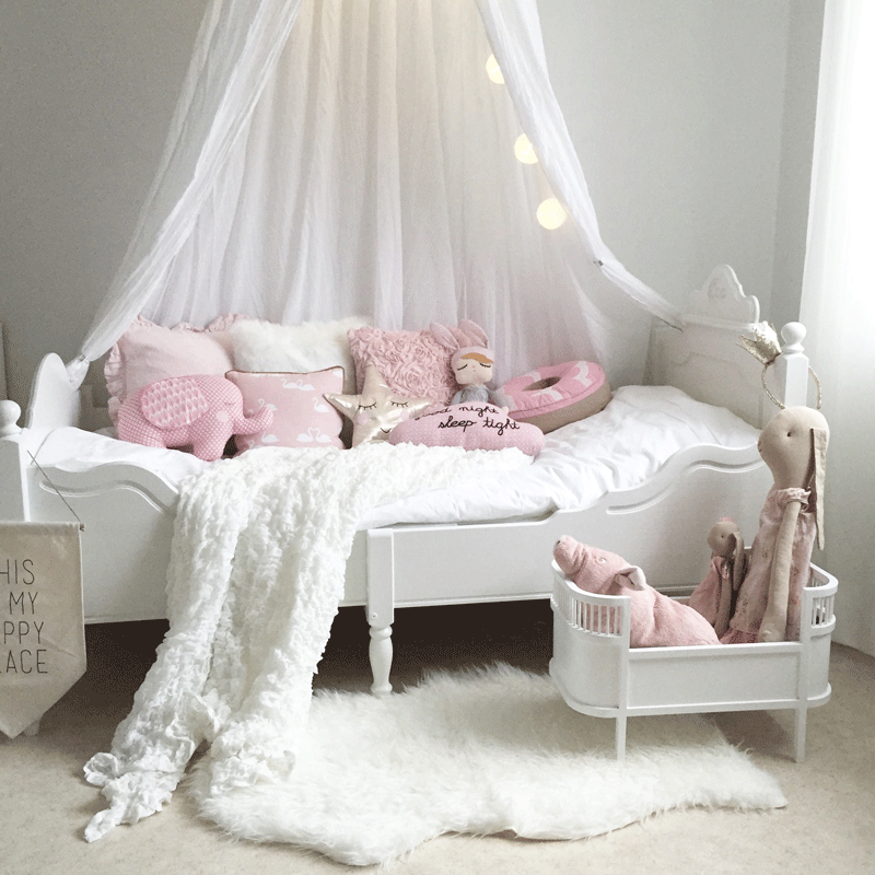 princess girls bed