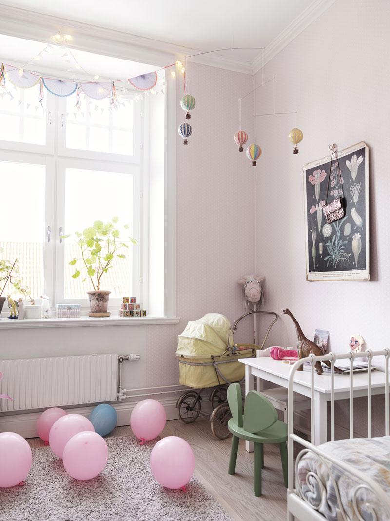 millenium pink kids interiors