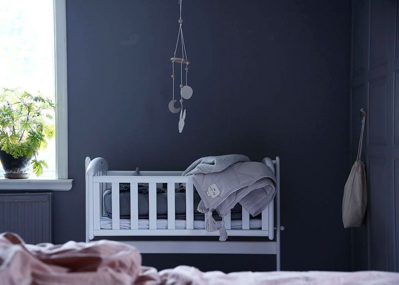 midnight blue nursery
