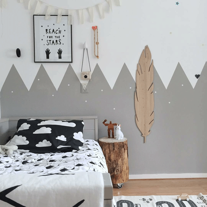 kids room snowflakes