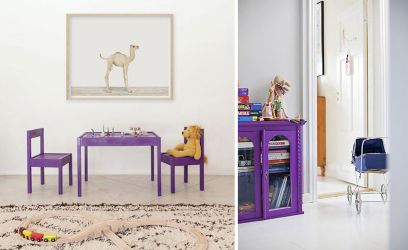 ultra violet in kids rooms