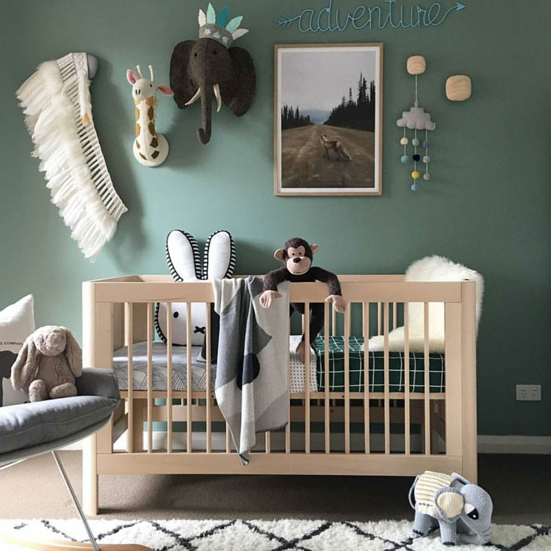 Colour predictions for kids 39 rooms 2018 kids interiors Colors for toddler boy room