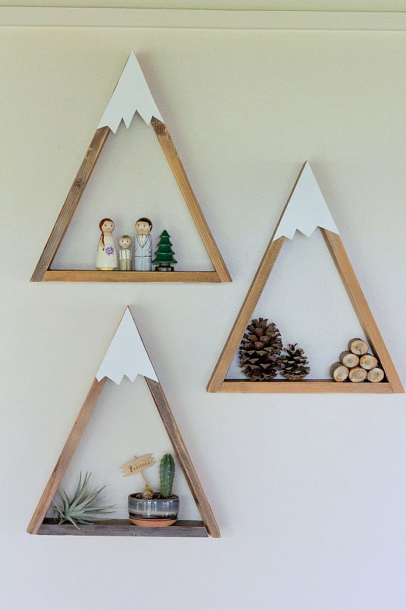 woodland shelves