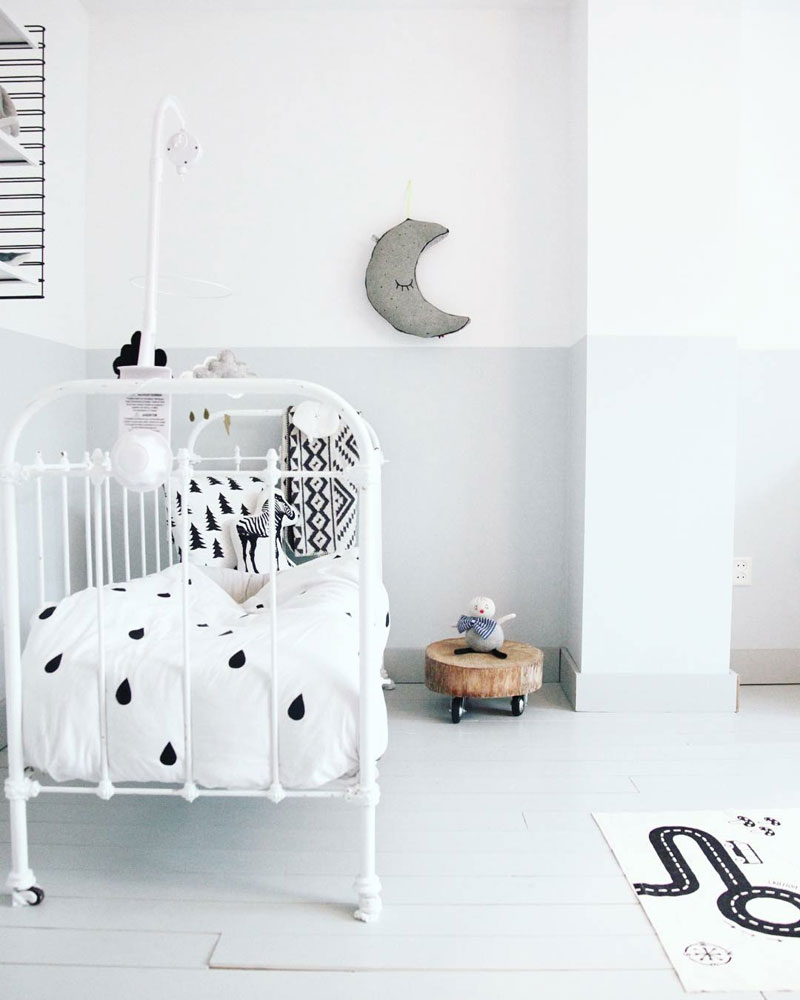 moon decor kids room