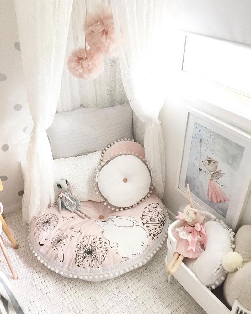 round cushions for nursery