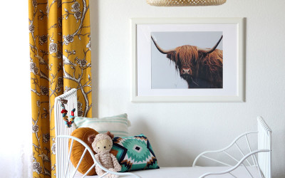 BROOKE'S MODERN BOHEMIAN TODDLER'S ROOM