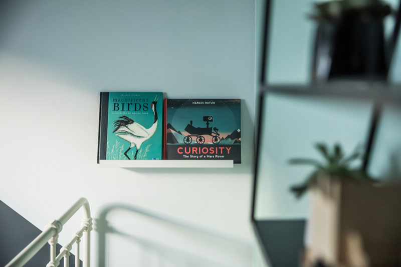 bedtime books display