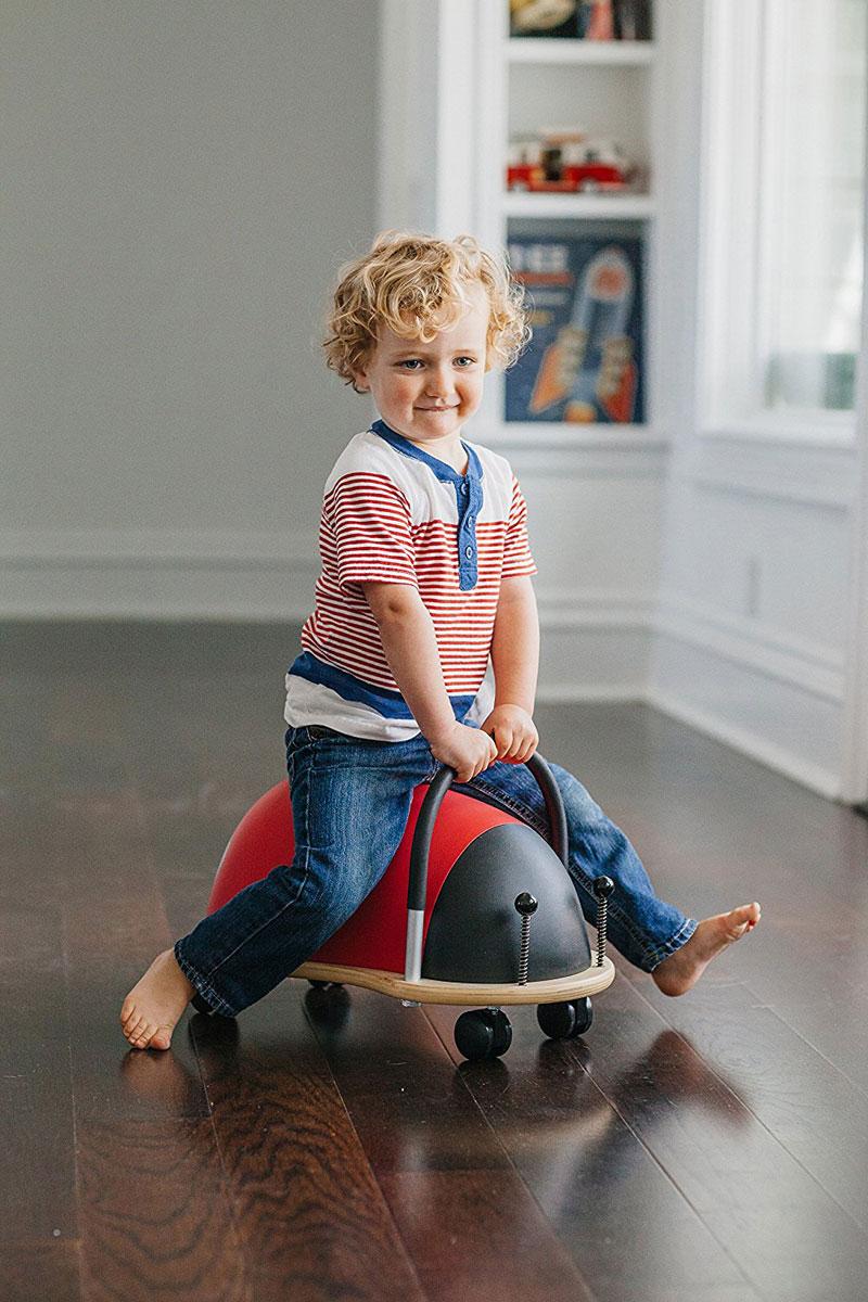 wheely bug ride-on prince lionheart