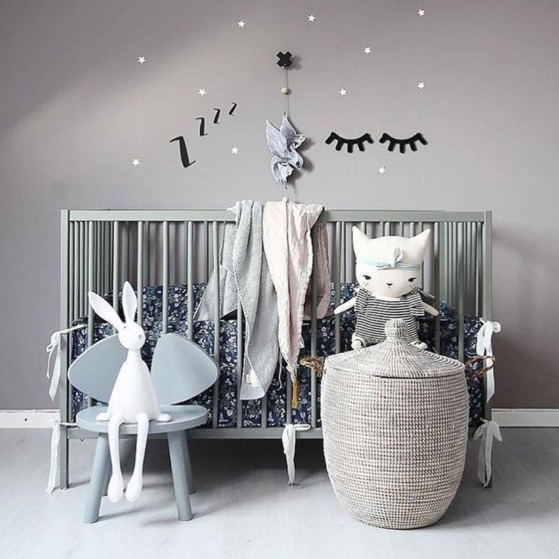 scandinavian style nursery