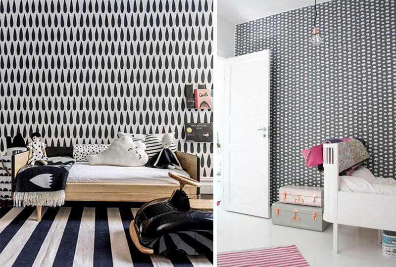 patterns in kids rooms