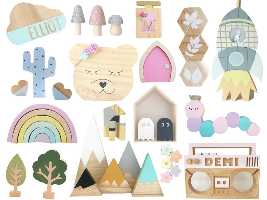 SHOPPING BY THEME : WOODEN DECOR