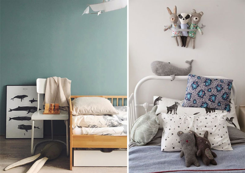 whale designs kids room