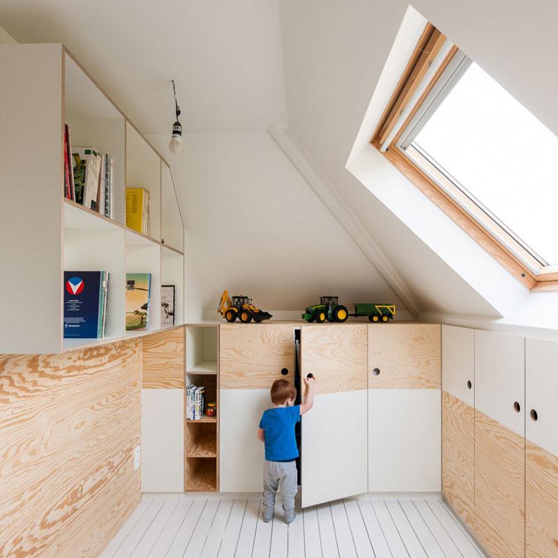 storage in attic