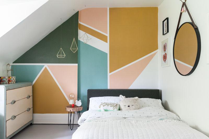 geomtetric design for walls