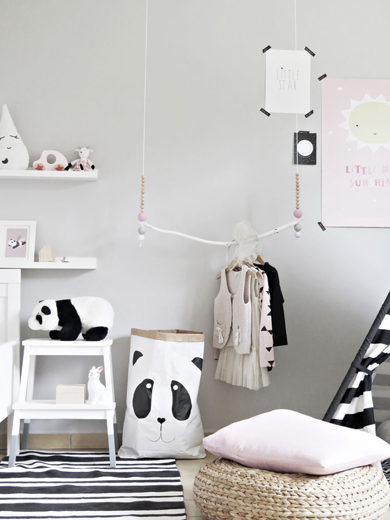 panda toybag