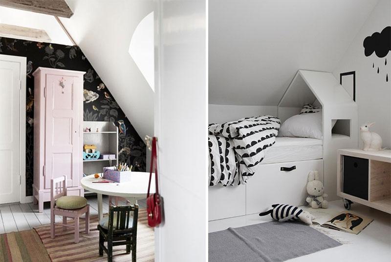 cool attic kids rooms