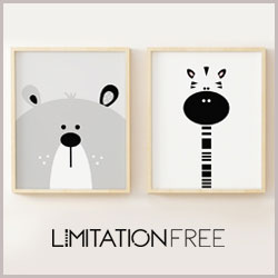 limitation free kids posters