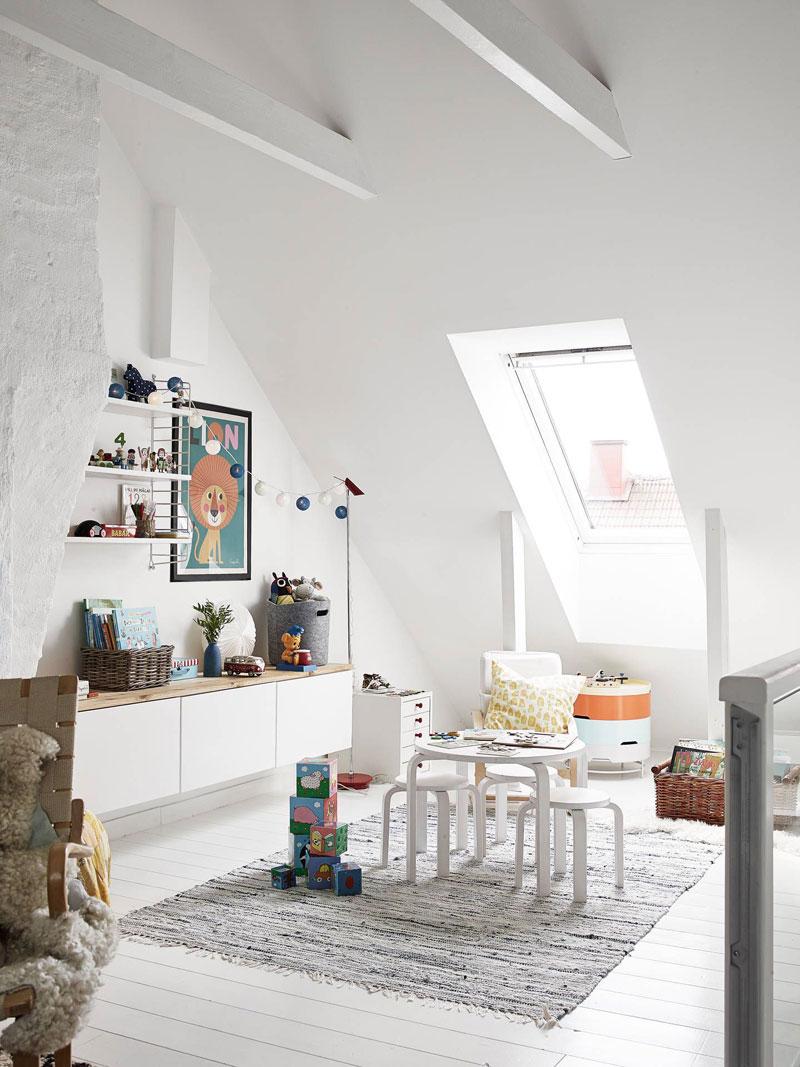 playroom in attic