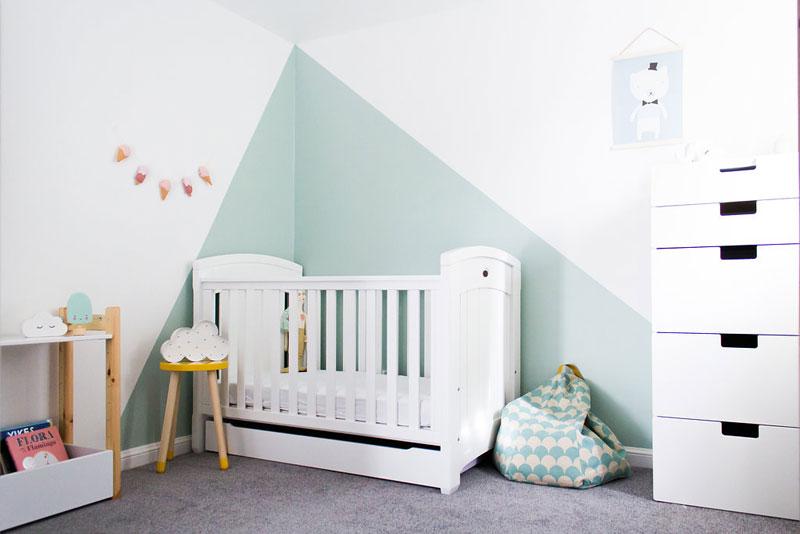 Amelia S Cool And Refined Nursery Room