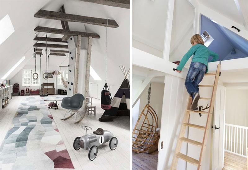 ladders in kids rooms