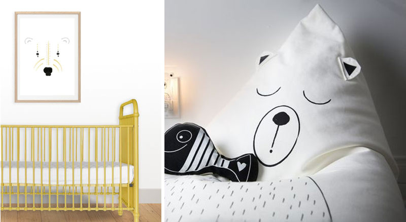 polar bear designs in kids rooms