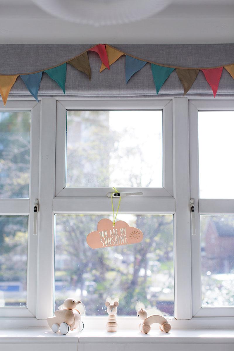 nursery window treatment
