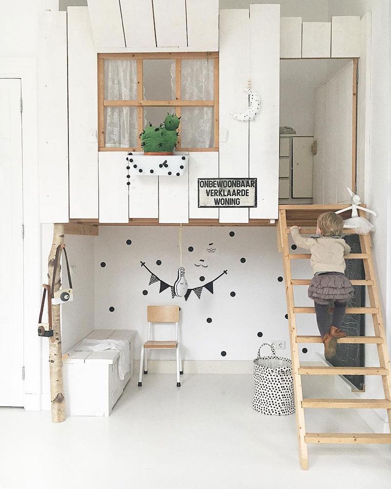 house attic kids room
