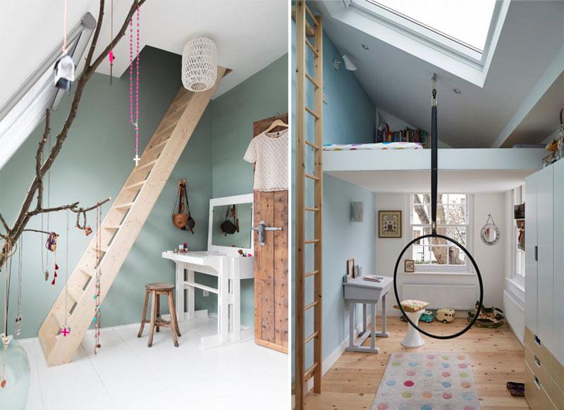 play area in attic