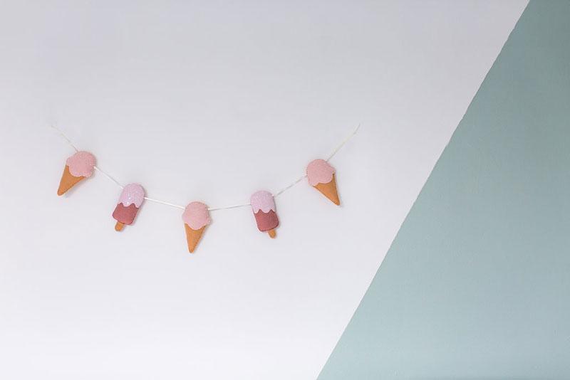 icecream garland