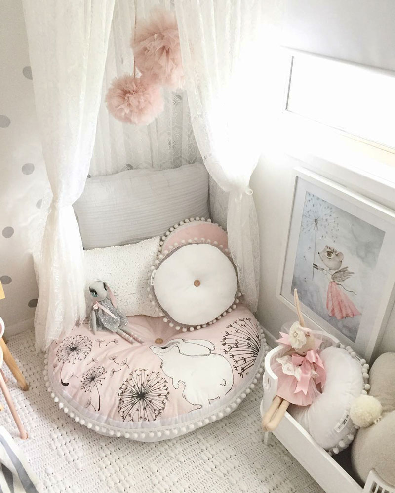 Designing A Cosy Reading Nook For The