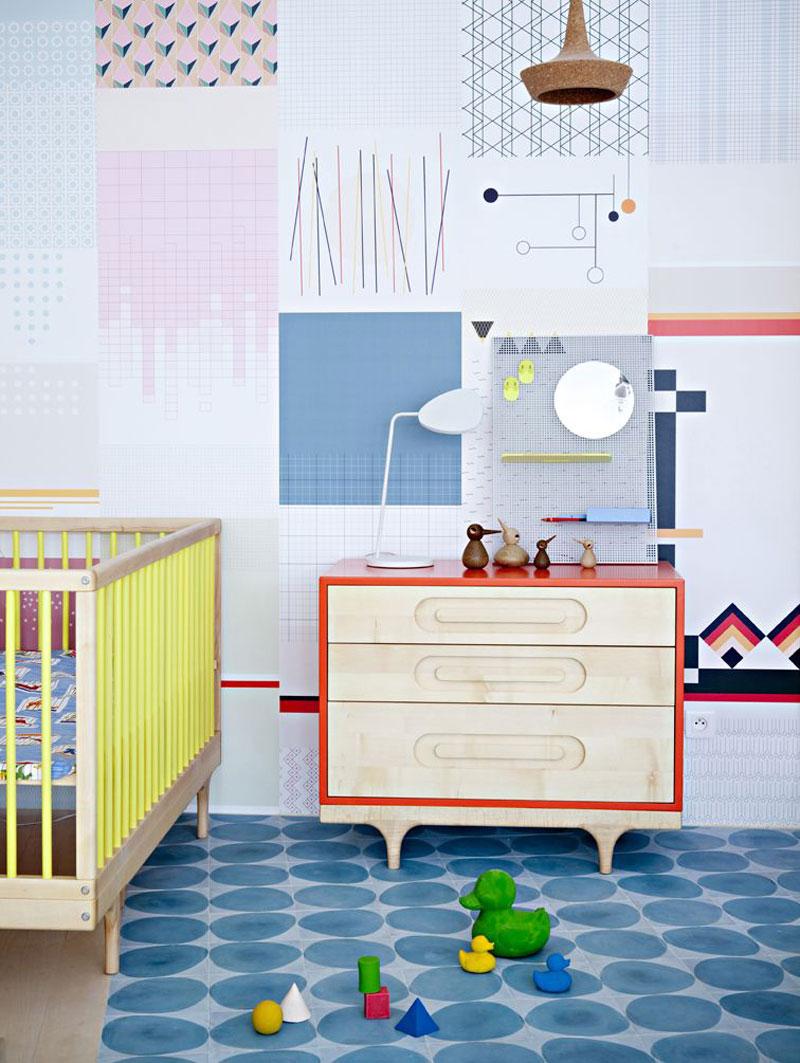 80 style kids interiors