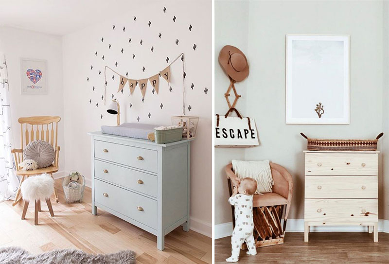 diy nursery changing tables
