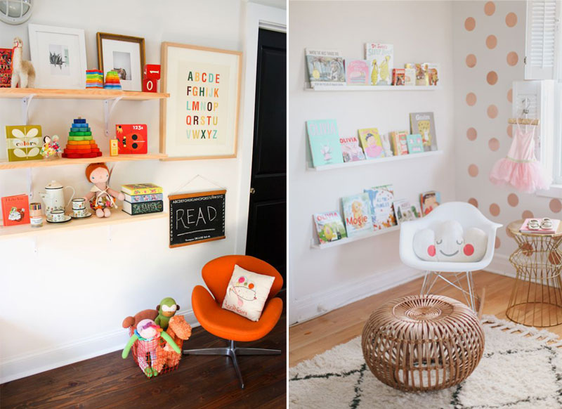reading corner ideas childrens room