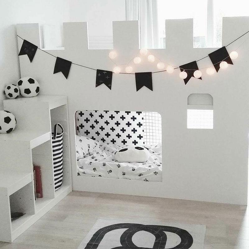 castle style bunkbed