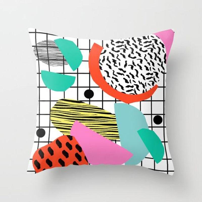 80's style cushion