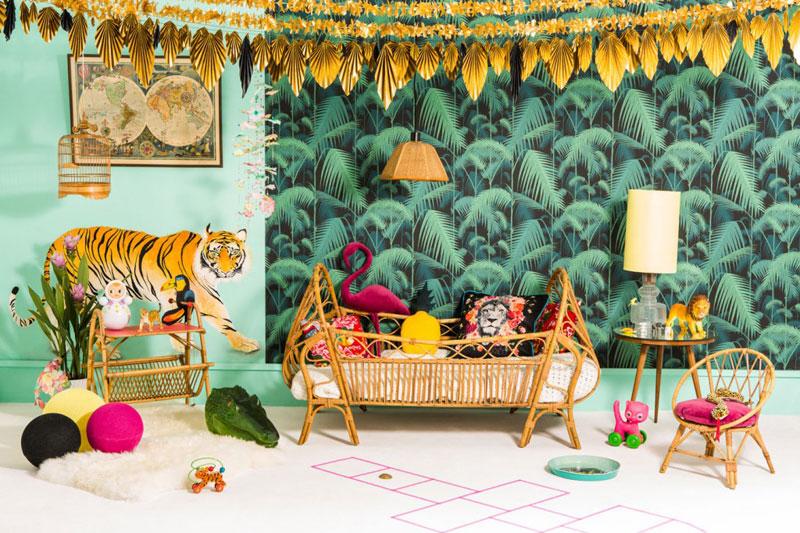 jungle kids room