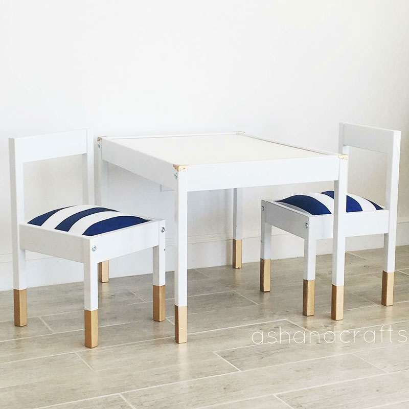 ikea table diy hacks
