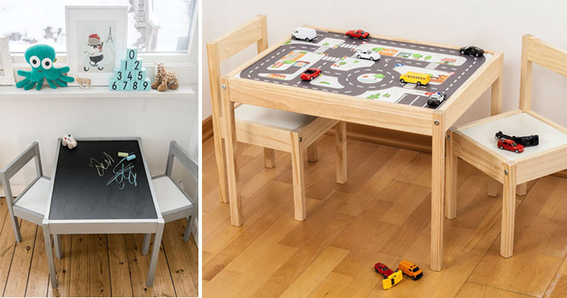 Ikea Latt table hacks