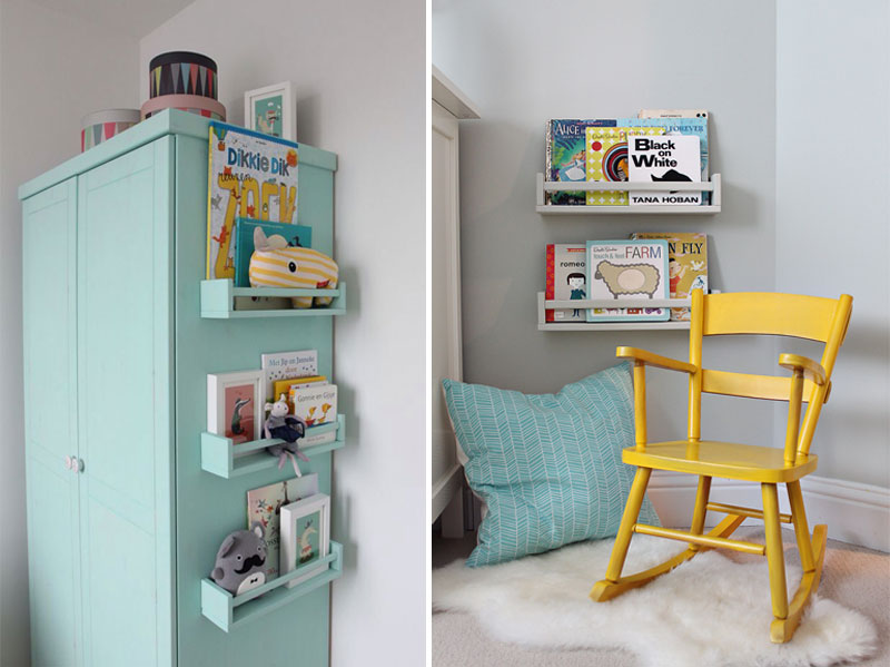 book ledges for childrens rooms