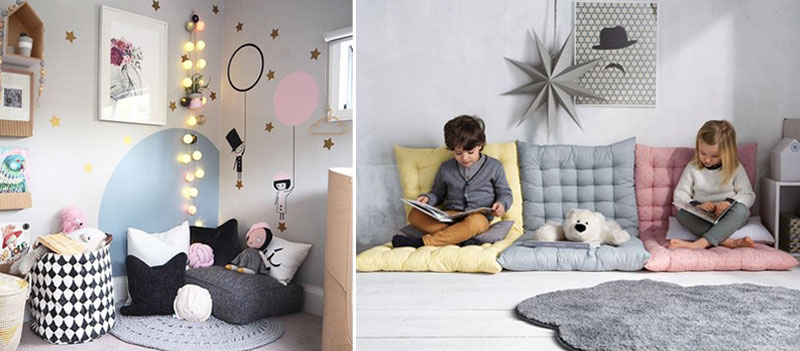 Designing A Cosy Reading Nook For The Kid S Room