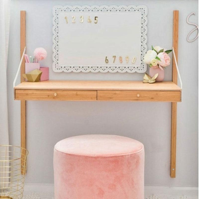 pink velvet pouf